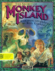 Постер The Secret of the Monkey Island