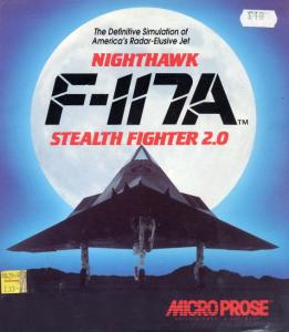 Постер F-117A Stealth Fighter 2.0