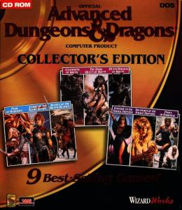Постер Advanced Dungeons & Dragons (Collector's Edition)
