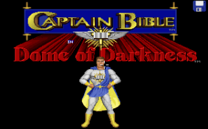 Captain Bible in the Dome of Darkness