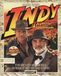 Indiana Jones and The Last Crusade: The Graphic Adventure (Adventure, 1989 год)