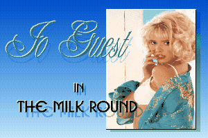 Jo Guest in the Milk Round