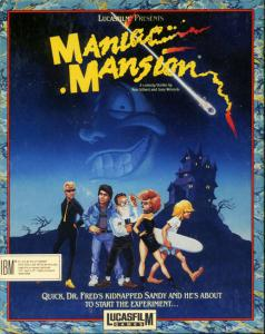 Maniac Mansion (Adventure, 1988 год)