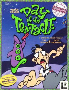 Постер Maniac Mansion: Day of the Tentacle