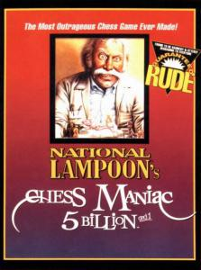 National Lampoon's Chess Maniac 5 Billion and 1 (Strategy, 1993 год)