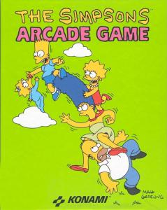 Постер The Simpsons Arcade Game