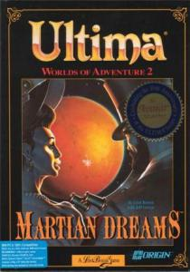 Постер Ultima: Worlds of Adventure 2 - Martian Dreams