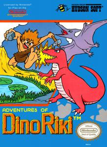 Adventures of Dino-Riki (Arcade, 1989 год)