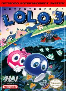 Adventures of Lolo 3 (Strategy, 1991 год)