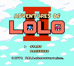 Adventures of Lolo 3