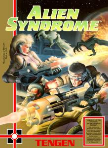 Alien Syndrome (Arcade, 1989 год)