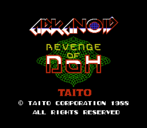 Arkanoid: Revenge of DOH