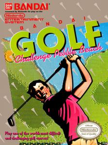 Постер Bandai Golf: Challenge Pebble Beach