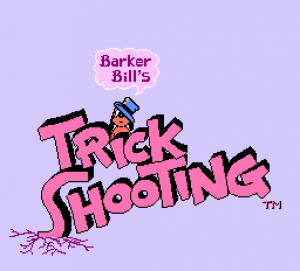 Barker Bill's Trick Shooting