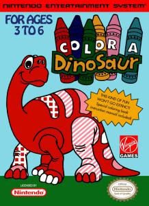 Color a Dinosaur (Arcade, 1993 год)