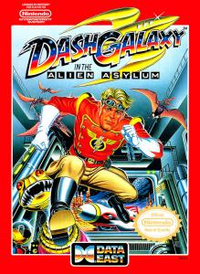 Dash Galaxy in the Alien Asylum (Arcade, 1990 год)