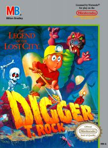 Digger T. Rock: Legend of the Lost City (Arcade, 1990 год)