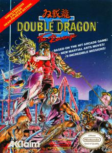 Постер Double Dragon II: The Revenge