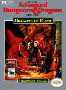 Постер Dragons of Flame