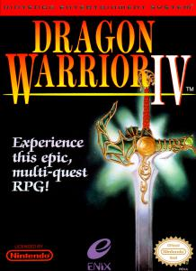 Постер Dragon Warrior IV