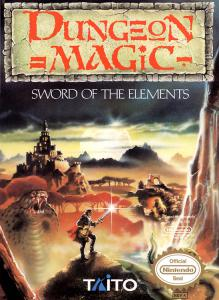 Постер Dungeon Magic: Sword of the Elements