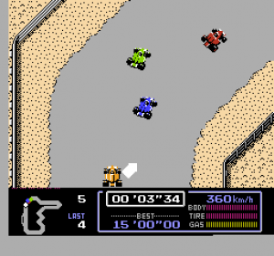 Famicom Grand Prix: F1 Race