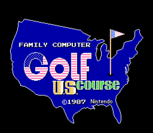Family Computer Golf: U.S. Course