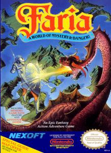 Постер Faria: A World of Mystery and Danger!