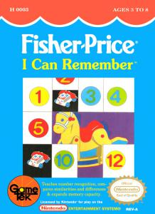 Fisher-Price I Can Remember (Arcade, 1990 год)