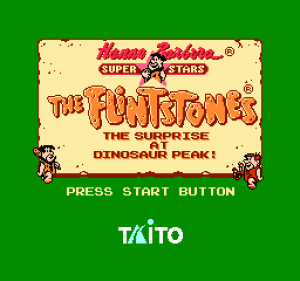 The Flintstones: The Surprise at Dinosaur Peak!