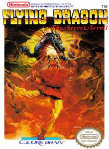 Flying Dragon: The Secret Scroll (Arcade, 1989 год)