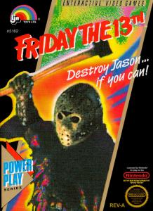 Friday the 13th (Arcade, 1989 год)