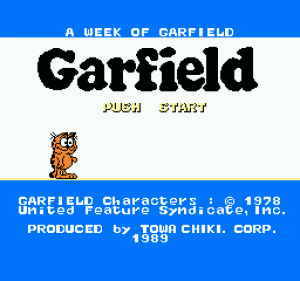 Garfield no Isshūkan: A Week of Garfield