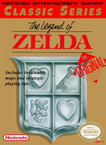 Постер The Legend of Zelda для NES
