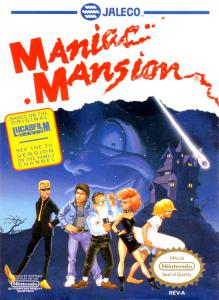 Maniac Mansion (Adventure, 1990 год)