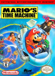 Постер Mario's Time Machine