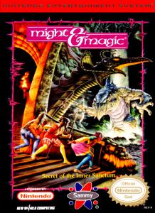 Might and Magic: Book One - Secret of the Inner Sanctum (Role-Playing, 1990 год)