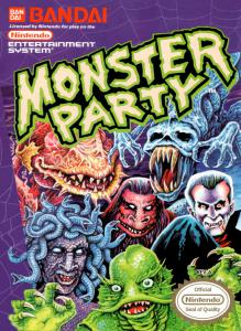 Постер Monster Party