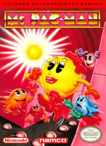 Постер Ms. Pac-Man