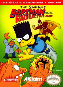Постер The Simpsons: Bartman Meets Radioactive Man