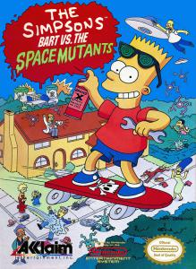 Постер The Simpsons: Bart vs. the Space Mutants