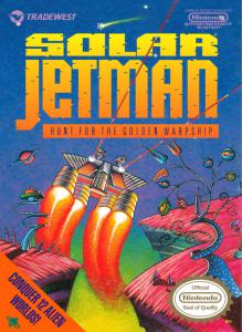 Постер Solar Jetman: Hunt for the Golden Warpship
