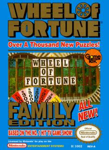 Wheel of Fortune: Family Edition (Strategy, 1990 год)