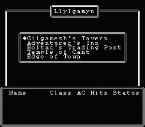 Wizardry: Legacy of Llylgamyn - The Third Scenario