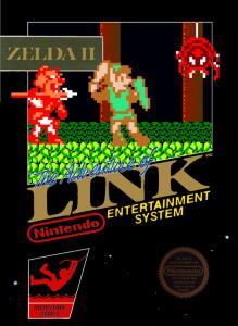 Постер Zelda II: The Adventure of Link