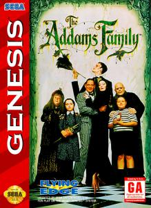 The Addams Family (Arcade, 1993 год)