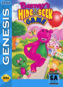 Barney's Hide & Seek Game (Adventure, 1993 год)