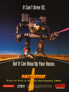 Постер BattleTech: A Game of Armored Combat