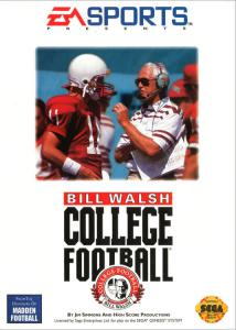Bill Walsh College Football (Sports, 1993 год)
