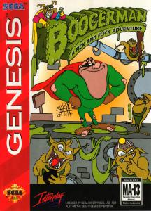 Boogerman: A Pick and Flick Adventure (Arcade, 1994 год)